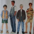 Simplicity 7224 Pattern, Boys Shirt Vest Pants Shorts, Sz 7 8 10, UNCUT