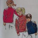 Vintage Kwik Sew 2093 Pattern, Unisex Shirts, Size 8, 10, 12, 14, Sealed
