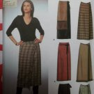 Misses Easy Wrap Skirts Simplicity 9407 Pattern, Sz 6 8 10 12, Uncut