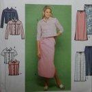 OOP Simplicity 9155 Pattern, Misses Jacket, Vest, Skirt & Pants. Sz 4-10 UNCUT