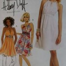 McCalls M5880 Hilary Duff Dress & Lined Tunic Pattern, Sz 12-18 UNCUT