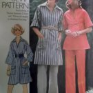 Vintage 1975 Misses Dress Top & Pants Simplicity 7250 Sewing Pattern,  Sz 12, Uncut