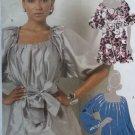 McCalls M5521 Pattern, Hilary Duff Misses' Tunics in Two Lengths & Sash, Sz 4-12 UNCUT