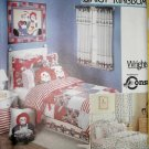 Daisy Kingdom  Raggedy Ann & Andy Bedding & Accessories Simplicity 9977 Pattern, Uncut