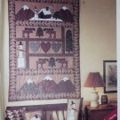 McCalls 8327 Pattern Paper Piecing american tradition Quilt Pillows Stocking Wall Hanging, UNCUT