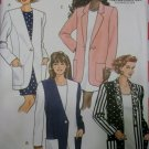 Easy  Misses or Petite Jacket Butterick 5855 Sewing Pattern, Plus size  14 16 18, Uncut