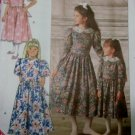OOP  Easy Girls Dress Butterick 4405 Sewing Pattern , Sz 12 14, UNCUT, FF