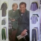 Easy Boy's Robe with Belt, top, Pull on Pants or Shorts Pattern McCalls 9638, Sz 3 to 8, Uncut