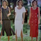 OOP Easy fitted Dress Butterick 6833 Pattern, Size 6 8 10 12, UNCUT