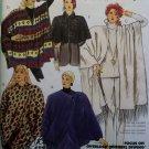 McCalls 5080 Coccon Jacket Caplet Ponchos Pattern, Size 18 20, Uncut