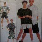OOP Simplicity 8561 Pattern, Unisex shirt, pants, shorts, Sz SM, UNCUT