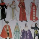Simplicity 4012 Child Unisex Costumes Wizard, Angel + Pattern - Size S M L, UNCUT FF OOP