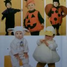 Simplicity 4007 Pattern, Toddler lamb witch ladybug pumpkin duck Costume , Sz A ½ 1 2 3 4,  UNCUT