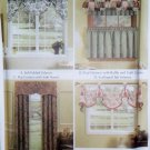 Easy Window Treatments Valances & Panels Simplicity Patterns 5603, All Sizes, Uncut