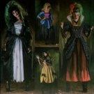 Simplicity 4028 Pattern, Misses Goth Costume, Sz 4-10 UNCUT