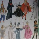 Girls Boys Costumes Simplicity 4860 Pattern, Sz 7 To 14, Uncut