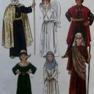 McCalls 2340, M7228 Child's Nativity Costume, Mary, Joseph 3 Kings Angel, Shepherd, Sz 12, 14, UNCUT