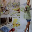 McCalls M 6479 Pattern, Apron, Towel, Bags and Potholders, Multi sized 8 10 12 14 16 18 20 22, Uncut
