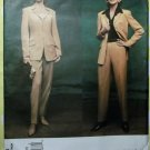American Designer Anne Klein Jacket, Pants Vogue 2696 Sewing Pattern, Size 20 to 24 Uncut