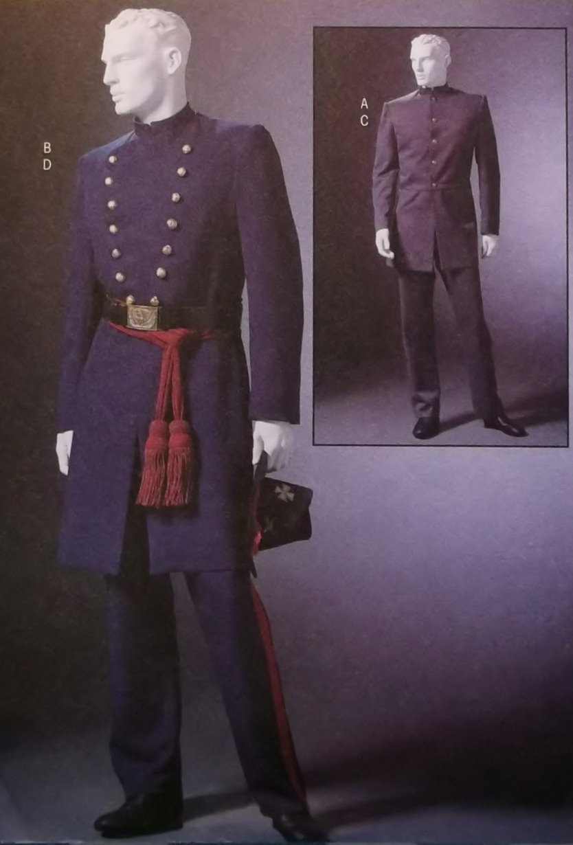 McCalls M4745 Pattern Men's Civil War Costumes, Sz SM-LG, UNCUT