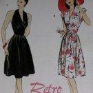 Retro Butterick B 5209 Patterns  Misses' Dress, Sizes 6, 8, 10, 12, UNCUT