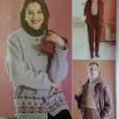 Misses Jacket and Pants McCalls 3318 Sewing Pattern, Size 8 10 12, Uncut