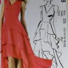 Easy  McCalls M6698 Pattern, MIsses or Petite Dress,  Sz 4 6 8 10 12, Bust 29.5 to 34, Uncut