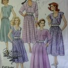 Easy Misses Front Button Dress McCalls 4267 Pattern, Size 10 12 14, Uncut