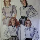 Vintage Misses Blouse McCalls 4417 Patterns, Sizes 12, 14, 16, UNCUT