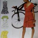 Easy McCalls M6694 Sewing Pattern, Misses' Dress, Plus Size 14 16 18 20 22, UNCUT