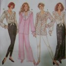 Simplicity 8815 Pattern Misses Pants Leggings and Blouses , Sz 12 14 16  UNCUT