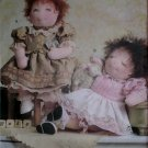 "Designed by Linda Carr 15"" Baby Doll and Clothes Vogue V7985 Pattern, Uncut"