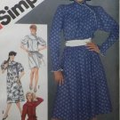 Simplicity 5800 Misses Pullover Yoked Dress Pattern, Size 14, Uncut