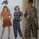 Easy Misses' Pants Shorts Culottes Top Pattern Simplicity 7683 Pattern, Sz 6 to 16, Uncut