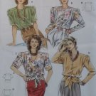 Burda 5060 Sewing Pattern Misses Blouse,  Plus Size 12 14 16 18 20 22 24, Sealed