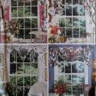 Easy Waverly Window Scarves Home Decor Butterick 3395 Pattern, Uncut