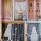 Easy Window Treatments Simplicity 5121 Patterns, Uncut
