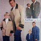 McCalls 2480 Pattern, Men's Teen Boys' Unlined Jacket,  Size: all sizes, UNCUT