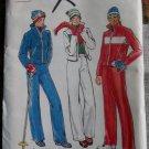 Vintage Misses Ski Jacket Snow Pants Butterick 5686 Sewing Pattern, Size 6 - 8 UNCUT