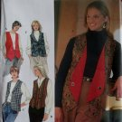 Simplicity 7910 Pattern Misses reversible Vests, Sz 12 14 16  UNCUT