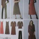 Women's Pants, Dresses, Jumper, & Tunic Simplicity 3700 Pattern, Plus Size 20W to 28W, Uncut
