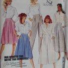 McCalls 3370 Misses Skirt, Culotte and Pants, Plus Size 22, Uncut