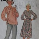 McCalls 6324  Misses Tunic or Two Piece Dress Pattern,  Size 8, UNCUT