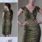 Easy Kay Unger Design Vogue V 1206 Dress Pattern, Size 6 8 10 12, Uncut