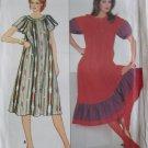 Housedress, Muu Misses' Dress Butterick 4437 Pattern, Size 6 8 10, Uncut