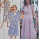 Easy Misses' or Petite Dress Butterick 4081 Pattern, Size 6 8 10, Uncut