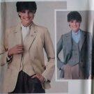 Vintage Misses' Jacket and Vest Butterick 3924 Pattern, Size 14 Uncut