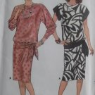 Misses Easy Top & Skirt Butterick 3558 Pattern, Size 8 10 12, UNCUT