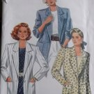 Misses Easy Jacket Blazer Butterick 4641 Pattern, Size 8 10 12, UNCUT