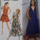 Simplicity 7758 EasyMisses Culotte Dress in Two Lengths and Dress Pattern, Sz 6 to 16, Uncut